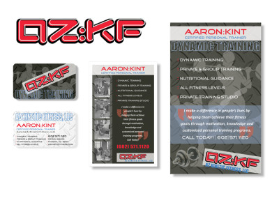 AZKF Logo, Business Card, Flyer & Poster Design