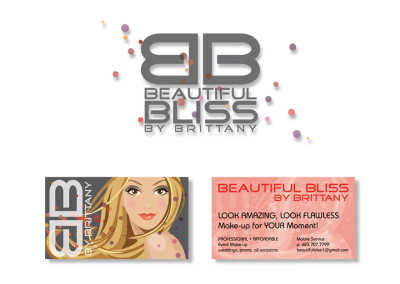 Beautiful Bliss Logo & Business Card Design