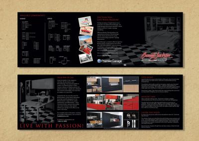 Barrett-Jackson Trifold Brochure Design