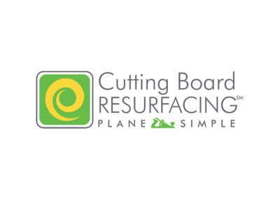 Cutting Board Resurfacing Logo Design