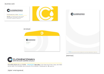Clowe & Cowan Business Tool Package Design