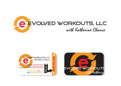 Evolved Workouts Logo & Business Card Design