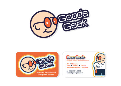 Bruce Goode Logo & Business Card Design
