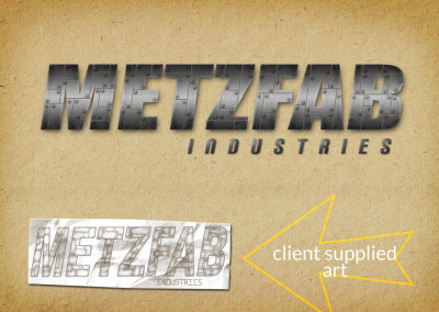 Metzfab Industries Logo Refinement