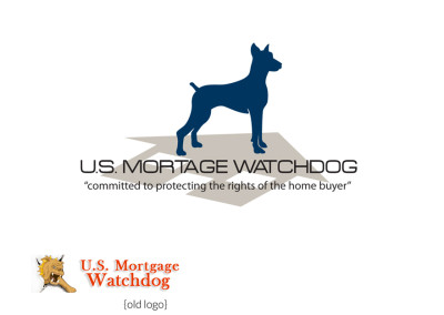 US Mortgage Watchdog Logo Redesign