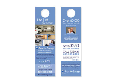 PremierGarage Door Hanger
