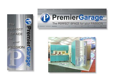 PremierGarage Trade Show Signage